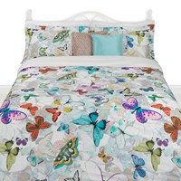 Amara Butterfly Duvet Set Multi
