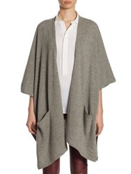 Polo Ralph Lauren Cashmere Wrap Cardigan Fawn Grey