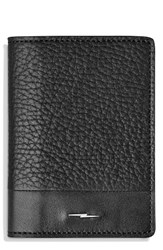 Shinola Men's Bold Card Case Black