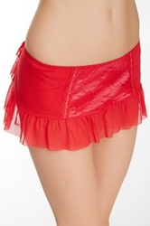Jezebel Lust Skirt Red