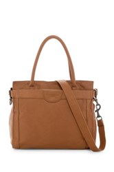 Liebeskind Glory Collapsible Leather Tote Brown