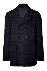 Paul Smith Wool Alpaca Car Coat