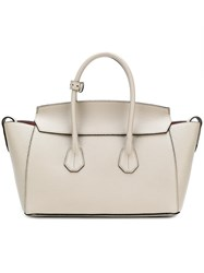 Bally Sommet Medium Tote Nude And Neutrals