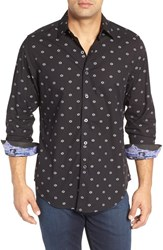 Robert Graham Men's 'Inlaid Empire' Classic Fit Floral Print Sport Shirt