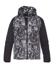 Balenciaga Technical Print Down Jacket