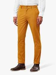 Joules Laundered Slim Fit Chinos Yellow