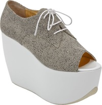 Walter Steiger Platform Wedge Oxford Grey