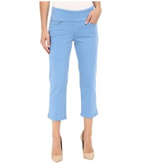 Jag Jeans Echo Pull On Classic Fit Crop In Dolce Twill Regatta Women's Multi