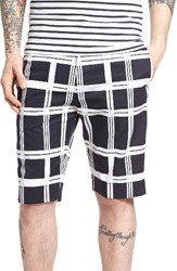 Antony Morato Men's Plaid Shorts
