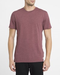 Element Red Crew Round Neck T Shirt