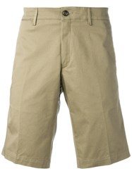 Moncler Tailored Bermuda Shorts Nude Neutrals