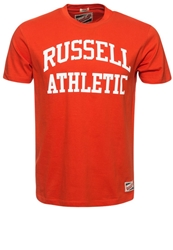 Russell Athletic Print Tshirt Tomato Red