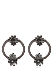 Dsquared Jeweled Hoop Earrings