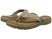Skechers Relaxed Fit 360 Supreme Bosnia Tan Men's Sandals