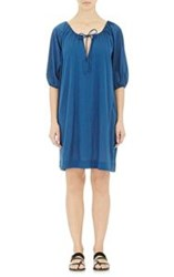 Eres Cover Up Dress Blue