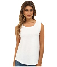 Alternative Apparel Cap Sleeve Crew White Women's Sleeveless