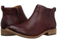 Kork Ease Velma Burgundy Full Grain Women's Pull On Boots Mahogany