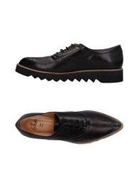 Le Stelle Lace Up Shoes Black