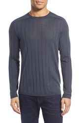 Men's John Varvatos Star Usa Ribbed Crewneck Wool Blend Sweater