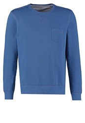 Olymp Level 5 Body Fit Sweatshirt Blau Blue