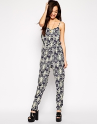 Neon Rose Cosmic Jumpsuit