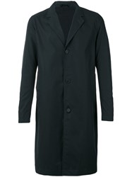 Stutterheim Classic Midi Coat Men Cotton Polyurethane S Black