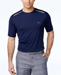 Greg Norman For Tasso Elba Active Pierced T Shirt Only At Macy's