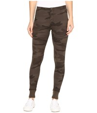 Splendid Woodbury Camo Leggings Olivine Women's Clothing Multi