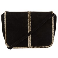 John Lewis Collection Weekend By Amelie Bead Across Body Bag Black Gold