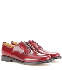 Church's Shannon Leather Derby Shoes Red