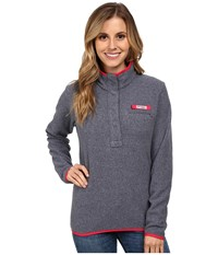 Columbia Ombre Springs Fleece Jacket Collegiate Navy Heater Ruby Red Women's Fleece Gray