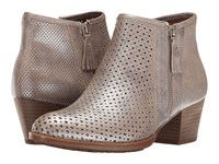 Earth Pineberry Silver Metallic Leather Women's Boots