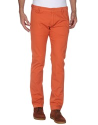 Truenyc. Trousers Casual Trousers Men Rust