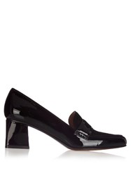 Tabitha Simmons Margot Patent Leather Loafer Black