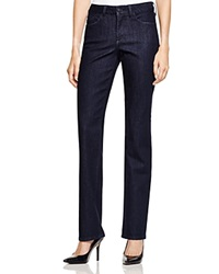 Nydj Marilyn Straight Leg Jeans In Dark Enzyme
