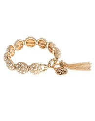 Lonna And Lilly Tasseled Stretch Bracelet Gold