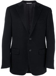 Canali Fitted Dinner Jacket Blue