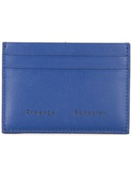 Proenza Schouler Origami Card Holder Blue