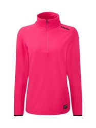 Tog 24 Halo Womens Tcz 100 Fleece Zip Neck Pink