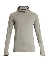 Peak Performance Power Jersey Hooded Sweatshirt Grey
