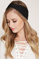 Forever 21 Pintucked Twist Front Headwrap