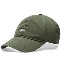 Wood Wood Low Profile Cap Green