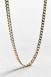 Vallour Curb Chain Necklace Gold