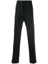 Diesel Wool Blend Pants With Snap Sides 60