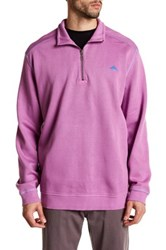 Tommy Bahama Antigua Half Zip Pullover Purple