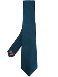 Paul Smith Patterned Tie Blue