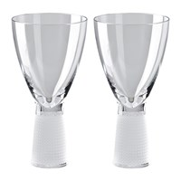 Rosenthal Frantisek Vizner Red Wine Glass Set Of 2