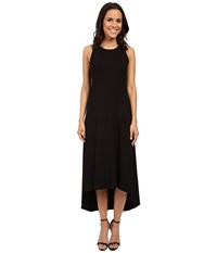 Karen Kane Hi Lo Maxi Dress Black Women's Dress