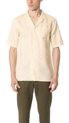 Zanerobe Camper Box Short Sleeve Shirt Bone
