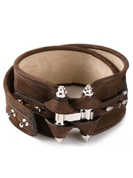 Givenchy 'Obsedia' Waist Belt Brown